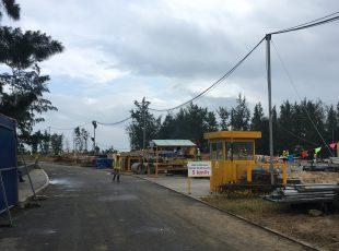 Tiến độ xây dựng tháng 3/2017