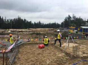 Tiến độ xây dựng tháng 7/2017