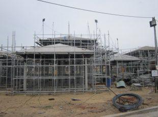 Tiến độ xây dựng tháng 5/2017